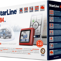 Автосигнализация StarLine D94 2CAN GSM (3 sim)